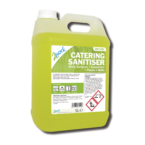 Image for 2Work Catering Sanitiser 5 Litre 2W71457