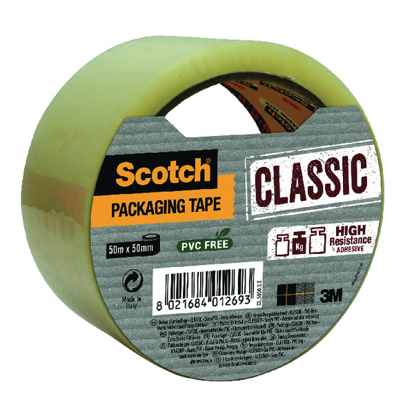 Scotch Clear 50mmx50m Packaging Tape