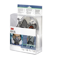 3M Half Mask and Filter Kit 6312L