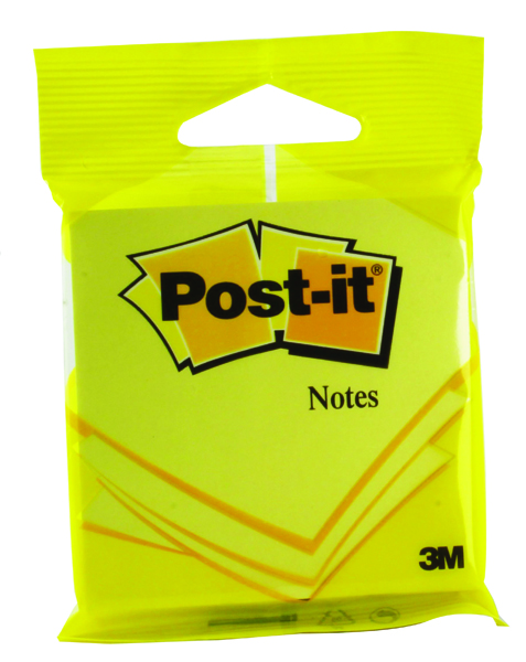 Post-it Notes 76 x 76mm Yellow (Pack of 12) 6820YEL