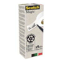 Scotch Clear Magic Tape 19mm x33m (Pack of 9) 90019339