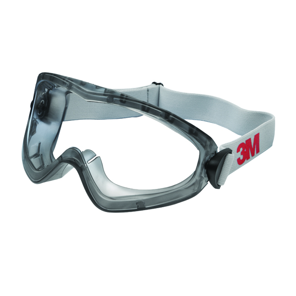 3M Clear 2890S Safety Goggles DE272934055