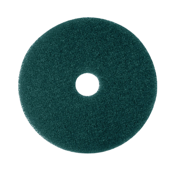 Image for 3M Economy 380mm Green Floor Pads (5 Pack) 2NDGN15