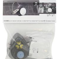 3M Organic Vapour Half Mask Respirator Kit (Pack of 1) 3212