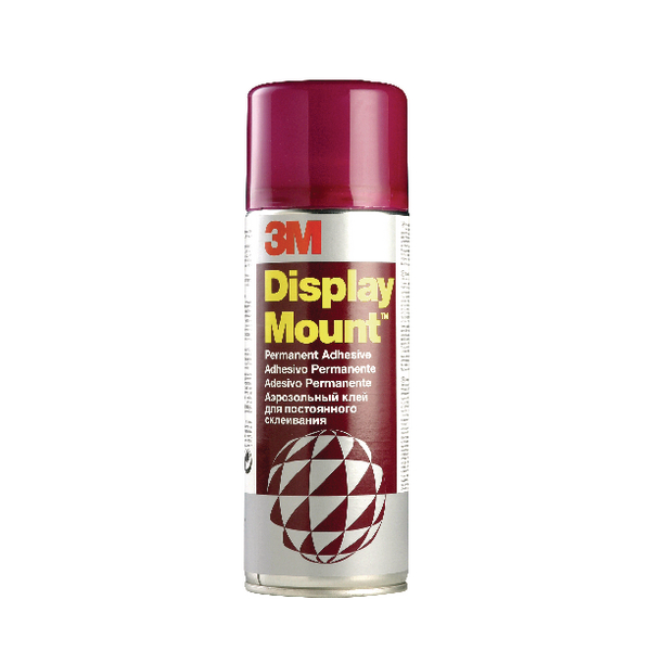 3M DisplayMount Aerosol Adhesive 400ml (Pack of 1) DMOUNT