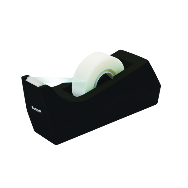 Scotch Black Scotch Tape Dispenser (Pack of 1) C38