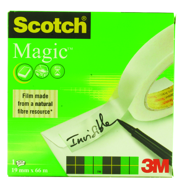 Scotch Magic Tape 19mm x 66m (Pack of 1) 8101966