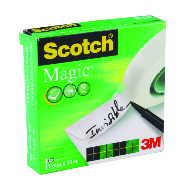 Scotch 810 Magic Tape 12mmx33M
