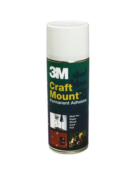 Image for 3M CraftMount Aerosol Adhesive 400ml