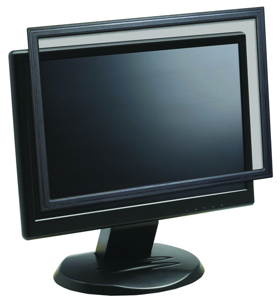 3M 22in Widescreen 16:10 Desktop Framed Privacy Filter PF322W