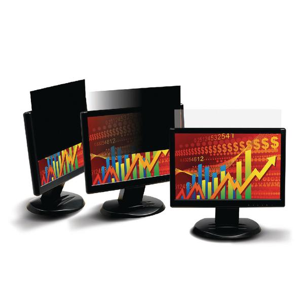 3M Black Privacy Filter For Desktops 20in Widescreen 16:9 PF20.0W9