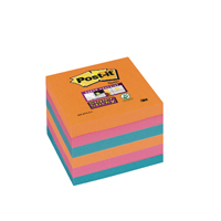 Post-it Super Sticky Note 76 x 76mm Bangkok (Pack of 6) Buy 2 get FOC Pk40 Maoam Minis
