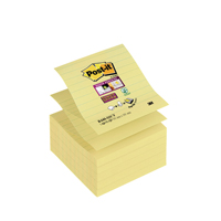 Post-it Super Sticky Extra Large Z-Notes Canary Yellow 101 x 101mm (Pack of 5) 3 For 2