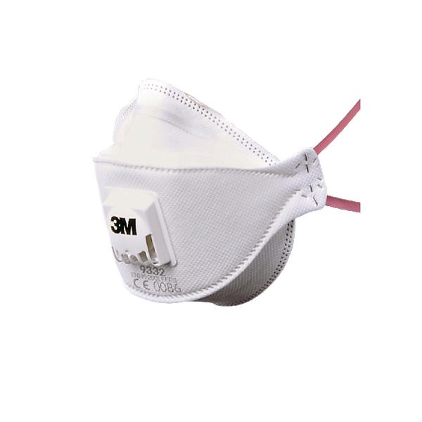 Flat Folded Valved Respirator FFP3 9332 Plus XA004837747
