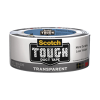 Scotch® Tough Duct Tape 48mm x 18m Transparent (Pack of 1) 4101