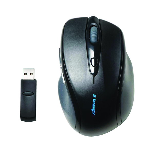 Kensington Black Pro Fit Wireless Full-Size Mouse (Pack of 1) K72370EU