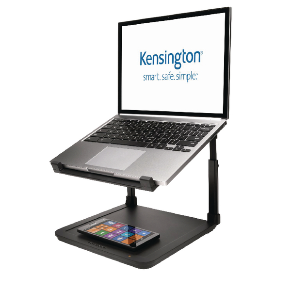 Kensington SmartFit Laptop Riser With Charging Pad K52784WW
