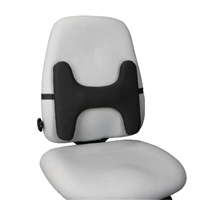 Kensington Lumbar Back Rest With SmartFit System Black 62823