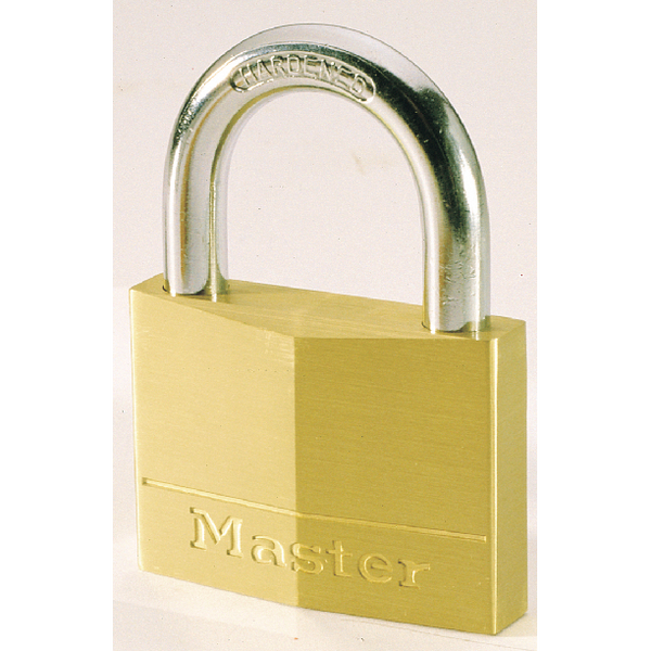 Image for Master Lock Magnum 30mm Brass Padlock 40043