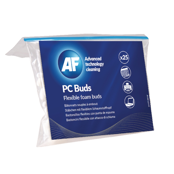 AF PC Foam Buds (25 Pack) APCB025
