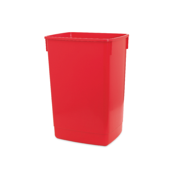 Addis Red 54 Litre Flip Top Bin Base 510899