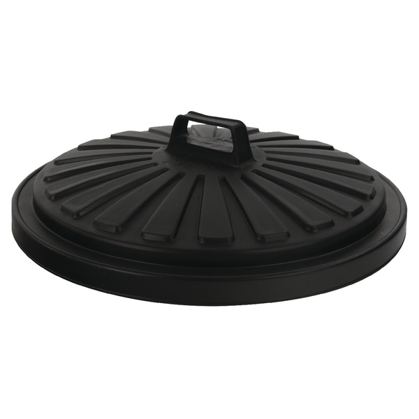 Addis Dustbin Lid Round 90 Litre Black 0766MOB