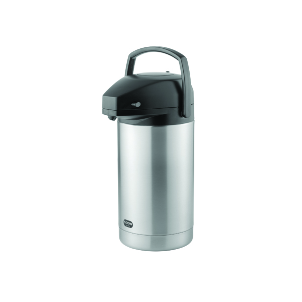 Addis Chrome President Pump Pot Vacuum Jug 3 Litre 637301600