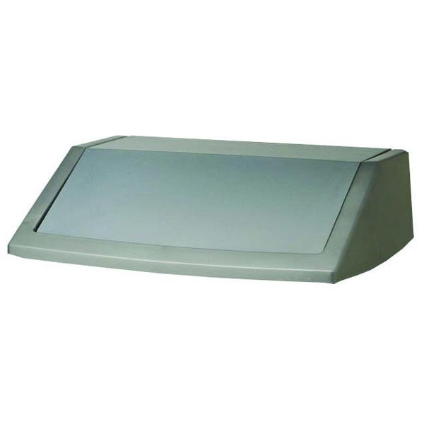 Addis 60 Litre Flip Top Bin Lid Metallic Grey 504895