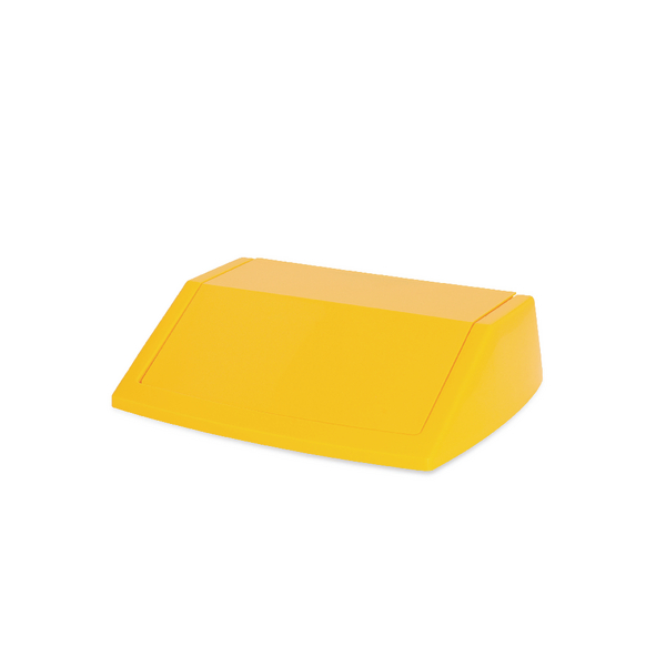Addis Yellow 54 Litre Fliptop Bin Lid 512861