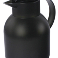 Addis Translucent Black Samba Quick Press Vacuum Jug 1 Litre (Pack of 1) 504235
