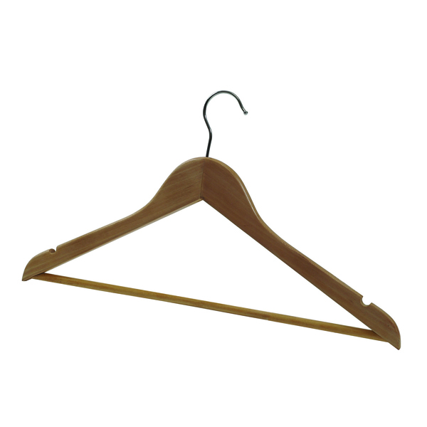 Alba Wooden Coat Hanger Pack of 25 PMBASICBO