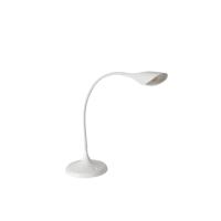 Alba LED Arum Flexi Stem Desk Lamp White (Pack of 1) LEDARUMW