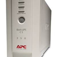 Image for APC Back-UPS CS 350VA Uninterruptible Power Supply (Pack of 1) BK350EI