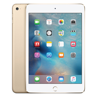 Apple iPad mini 4 Wi-Fi + 4G 64GB Gold (Pack of 1) MK8C2B/A