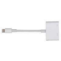 Apple Lightning Digital AV Adapter White (Pack of 1) MD826ZM/A