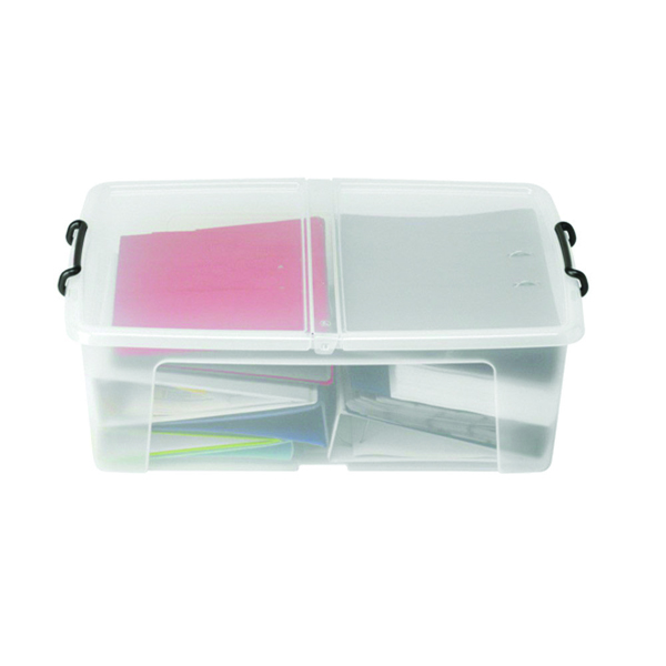 Strata Smart Storage Box 50L Clear HW675