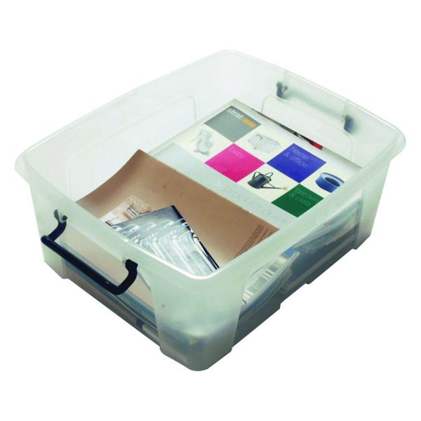 Strata Clear Smart Storage Box 24 Litre HW673