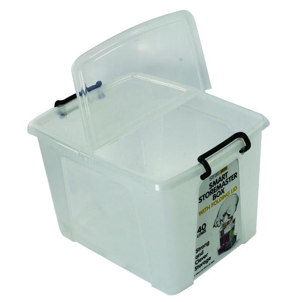 Strata Smart Box 40L Clear HW674