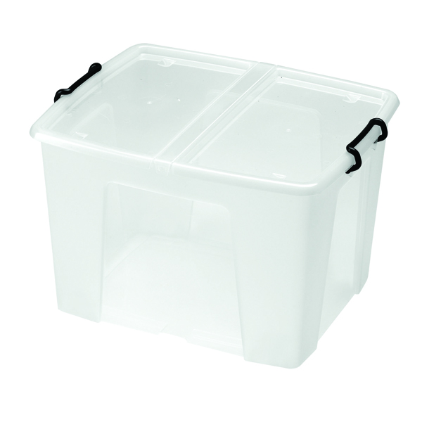 Strata Clear Smart Storage Box 65 Litre (Pack of 1) HW686