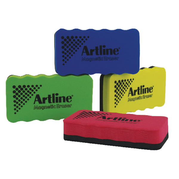 Artline Smiley Whiteboard Erasers (4 Pack) ERT-MMS-GB4