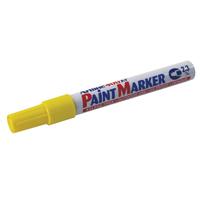 Artline 400 Paint Marker Medium Bullet Tip Yellow (Pack of 12) Buy 1 Get 1 Free