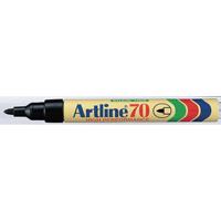 Artline 70 Permanent Marker Bullet Tip Black (Pack of 12) Buy 1 Get 1 Free
