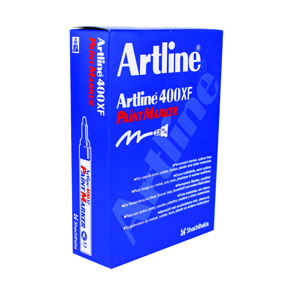 Artline 400 Paint Marker Medium Yellow