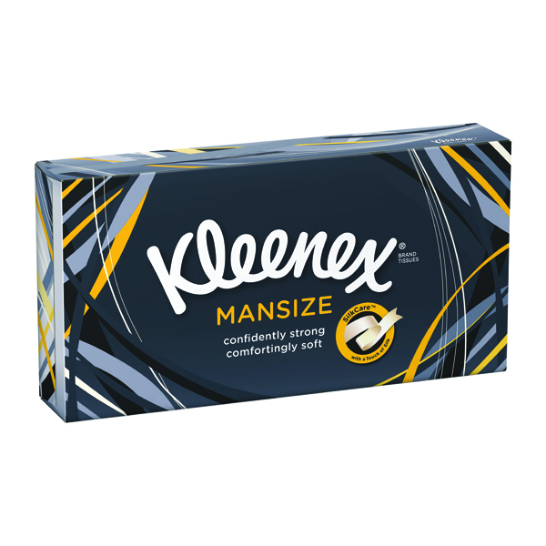 Kleenex White Mansize Tissues (100 Pack) 3717705