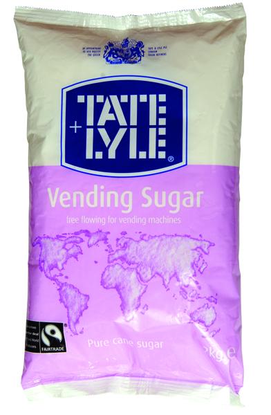 Tate & Lyle White Vending Sugar 2kg (6 Pack) A00696PACK