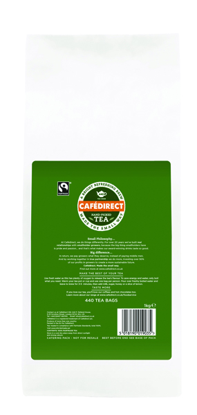 Cafedirect Fairtrade Everyday One Cup Tea Bags (Pack of 440) FTB0010