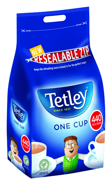 Tetley One Cup Tea Bag (440 Pack) 1054J