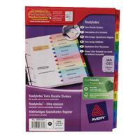 Avery Ready Index January-December Divider 02002501