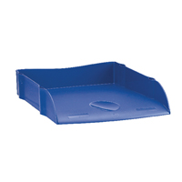 Avery Desktop Letter Tray Blue DR100