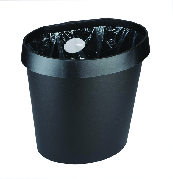 Avery DTR Eco 18 Litre Black Waste Bin DR500BLK